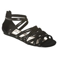 Women's Xhilaration® Thetis Strappy Sandal - Black