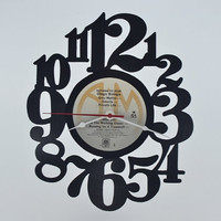 Vinyl Record Album Wall Clock (artist is Oingo Boingo)