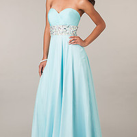 Long Strapless Sweetheart Alyce Dress