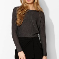 Silence + Noise Pieced Rib-Knit Top - Urban Outfitters
