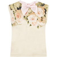 Monnalisa Antique Rose T-Shirt