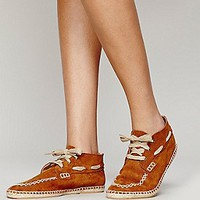 Free People Womens Westing Chukka - Cognac,