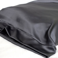 100% Silk Pillowcase, Charcoal Gray, Standard or King, Hypoallergenic Bed Linen for Sensitive Skin and Hair Care