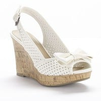 Apt. 9 Slingback Wedge Sandals - Women