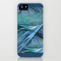 Blue iPhone & iPod Case by Armin