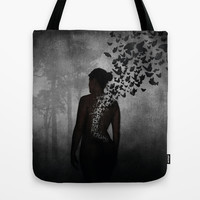 The Butterfly Transformation II Tote Bag by Nicklas Gustafsson