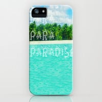 Para-para-paradise iPhone & iPod Case by Armine Nersisian