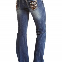 DAKOTA FLARE POCKET REPAIR PREMIUM JEANS
