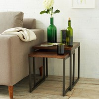 Box Frame Nesting Tables - Café