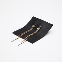 Free People Fine Fringe Earring