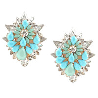 NEPTUNE CLUSTER EARRINGS
