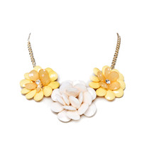 Papaya Clothing Online :: FLORAL STONE NECKLACE