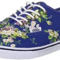 VANS Women's Authentic Lo Pro Floral Blue True White.
