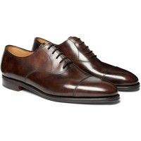 John Lobb - City II Leather Oxford Shoes | MR PORTER