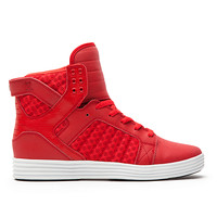 SKYTOP LITE RED/PATTERN - WHITE