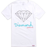 Diamond Supply Co Script Logo Tee at PacSun.com