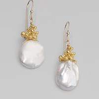 Alexis Bittar - Calder Gold Small Keshi Teardrop Earrings - Saks.com