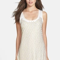 'Embellished Dot' Cover-Up Dress