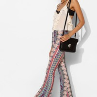 Raga Boho-Print Bell Flare Pant - Urban Outfitters