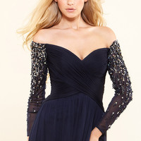 Terani Couture dress M3496 - netfashionavenue.com