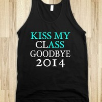 KISS MY CLASS GOODBYE 2014 TANK