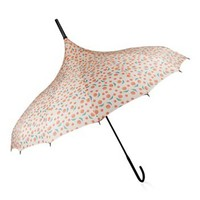 BlueAvocado XO(eco) Ivory Roses Umbrella by Lauren Conrad