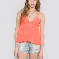 ELECTRIC BABYDOLL TOP