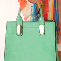 Where Anything Goes Purse: Mint
