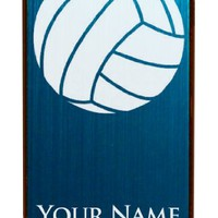 Engraved Aluminum iPhone 4/4S Case/Cover - VOLLEYBALL, VOLLEY BALL - Personalized for FREE (Click the CONTACT SELLER link after purchase to tell us your case color and engraving request)