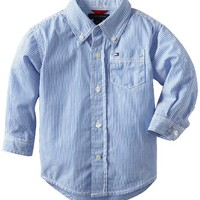 Tommy Hilfiger Baby Boys Infant Stripe Shirt