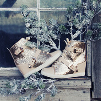Dasher Sparkling Booties