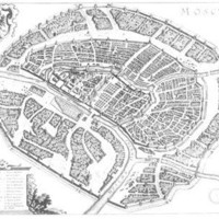 Moscow: 1646 - REPRODUCTION MAPS