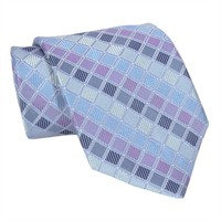 XMI Diamond Geometric Woven Silk Tie at Von Maur