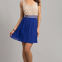Short Sleeveless Casual Dress