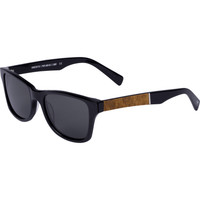 Grey Polarized Black Maple Burl Canby Sunglasses