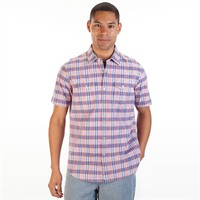 Tommy Bahama Island Modern Fit Space Race Plaid Short Sleeve Shirt at Von Maur