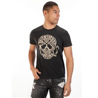 True Religion Men's Contemporary Guitar Skull Tee at Von Maur