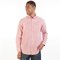 Tommy Bahama Island Modern Fit Salty Dob Striped Shirt at Von Maur