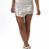 Shine Bright Asymmetrical Skirt | Bloody-Fabulous