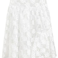 SIMONE ROCHA | Transparent Floral Embroidered Skirt | Browns fashion & designer clothes & clothing