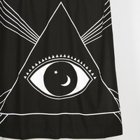 Magical Thinking Pyramid Eye Shower Curtain - Urban Outfitters