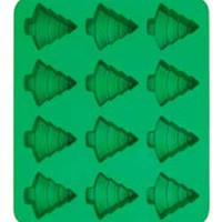 Silicone Soap Mold- 12 Trees