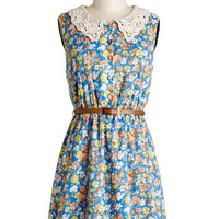 The Way It Grows Dress in Azure | Mod Retro Vintage Dresses | ModCloth.com