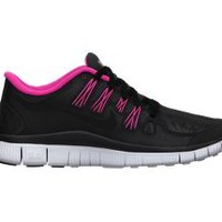 The Nike Free 5.0+ Shield Women's Running Shoe.