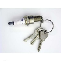 Spark plug Death Proof keychain