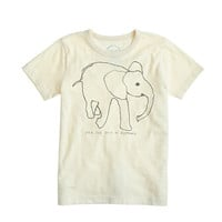 KIDS' DAVID SHELDRICK WILDLIFE TRUST ELEPHANT TEE