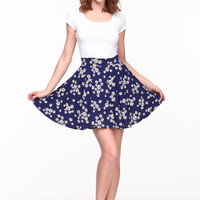 DAISY SHOWER PLEATED SKIRT