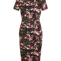 GIVENCHY | Floral Printed Stretch-Jersey Dress | Browns fashion & designer clothes & clothing