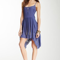 HauteLook | Free People: Embroidered Meadow Slip Dress