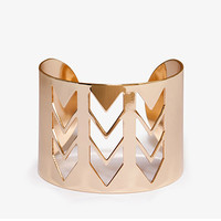 Cutout Chevron Cuff